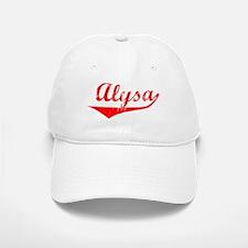Alysa Vintage (Red) Baseball Baseball Cap