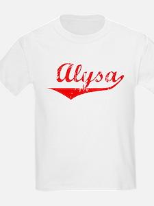 Alysa Vintage (Red) T-Shirt