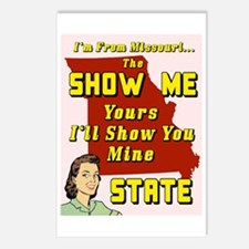 the show me state Postcards (Package of 8)