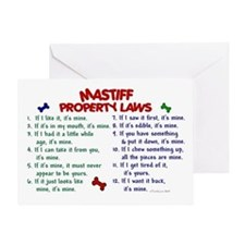 Mastiff Property Laws 2 Greeting Card