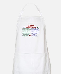Mastiff Property Laws 2 BBQ Apron