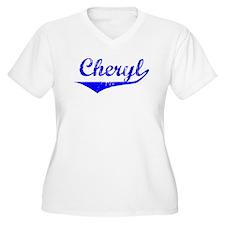 Cheryl Vintage (Blue) T-Shirt