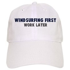 Windsurfing First Baseball Cap