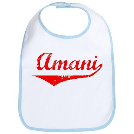 Amani Vintage (Red) Bib