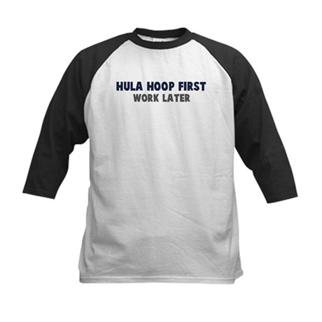 Hula Hoop First Kids Baseball Jersey