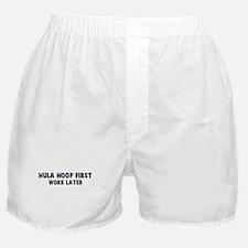 Hula Hoop First Boxer Shorts