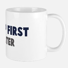 Hula Hoop First Mug