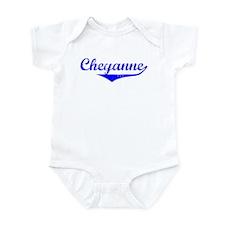 Cheyanne Vintage (Blue) Infant Bodysuit