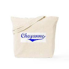 Cheyanne Vintage (Blue) Tote Bag