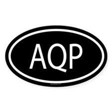 AQP Oval Decal
