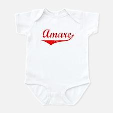 Amare Vintage (Red) Infant Bodysuit