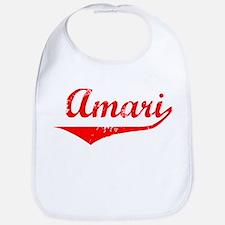 Amari Vintage (Red) Bib