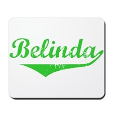 Belinda Vintage (Green) Mousepad