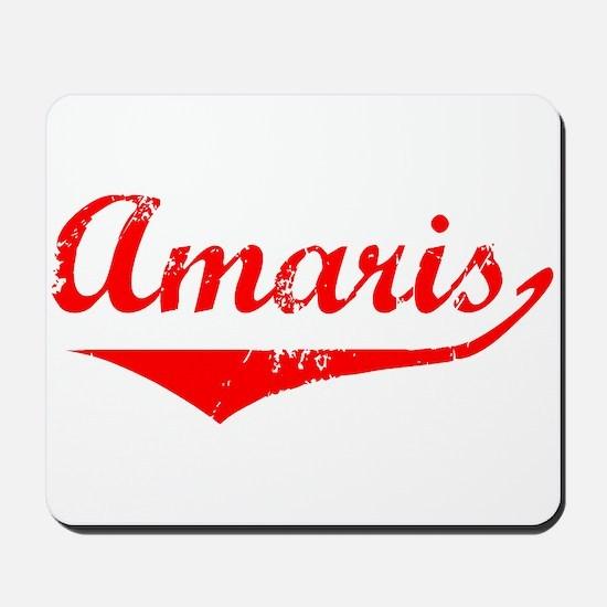 Amaris Vintage (Red) Mousepad