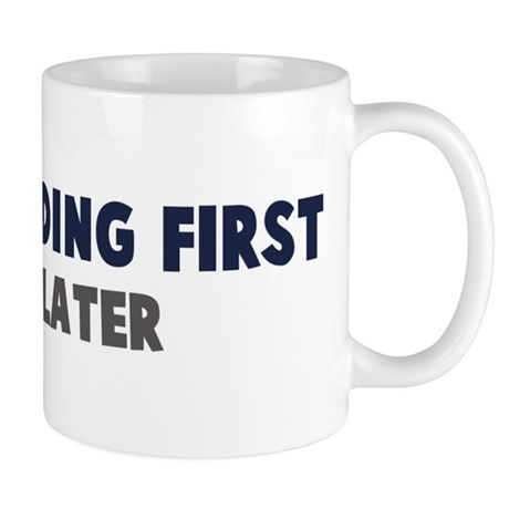 Wakeboarding First Mug
