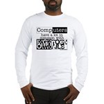 Computer users long sleeve T-Shirt