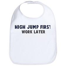 High Jump First Bib