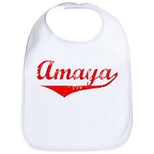 Amaya Vintage (Red) Bib