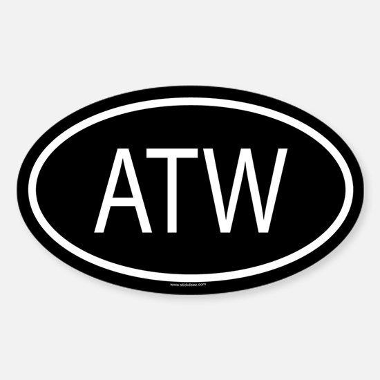 ATW Oval Decal