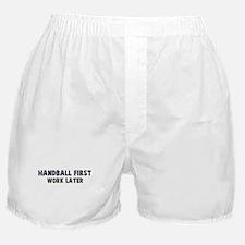Handball First Boxer Shorts