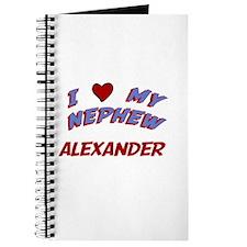 I Love My Nephew Alexander Journal
