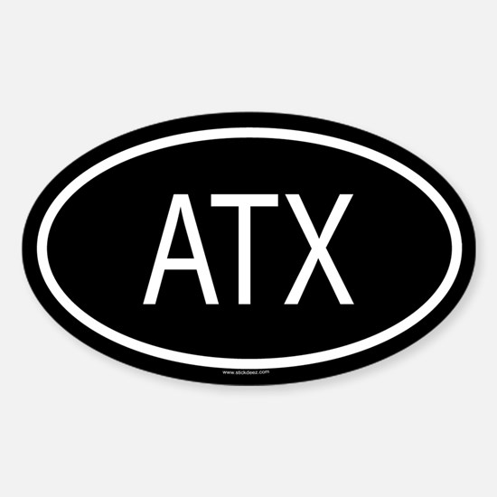 ATX Oval Decal
