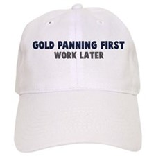 Gold Panning First Baseball Cap