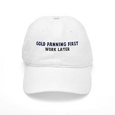 Gold Panning First Cap