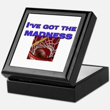 I've got the madness in march Keepsake Box