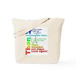 Lucky tote bag