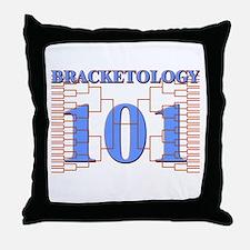 Bracketology 101 Throw Pillow