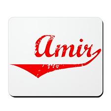 Amir Vintage (Red) Mousepad