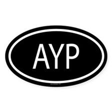 AYP Oval Decal