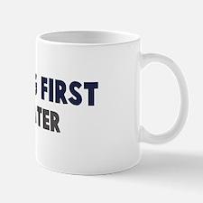 Freediving First Mug
