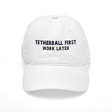 Tetherball First Baseball Cap