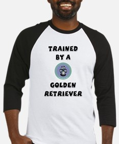 Trained by a Golden Retriever Baseball Jersey