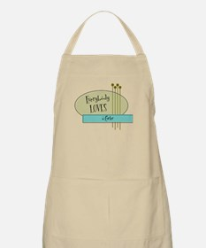 Everybody Loves a Curler BBQ Apron