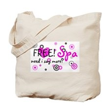 Spa Products Tote Bag