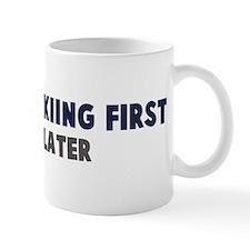 Telemark Skiing First Mug