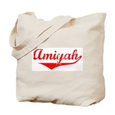 Amiyah Vintage (Red) Tote Bag