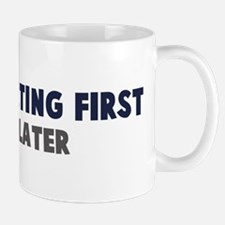 Figure Skating First Mug