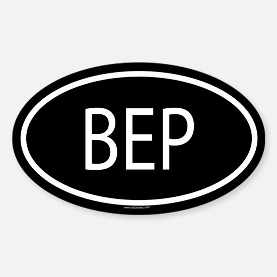 BEP Oval Decal