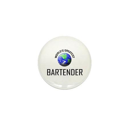 World's Greatest BARTENDER Mini Button (10 pack)