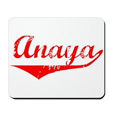 Anaya Vintage (Red) Mousepad
