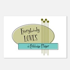 Everybody Loves a Cribbage Player Postcards (Packa