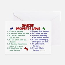 Sheltie Property Laws 2 Greeting Cards (Pk of 10)