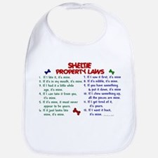 Sheltie Property Laws 2 Bib