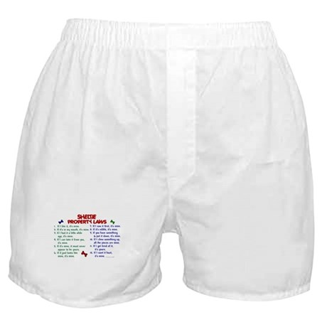 Sheltie Property Laws 2 Boxer Shorts
