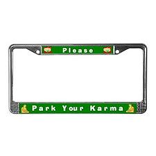 Please Park Your Karma #2 License Plate Frame