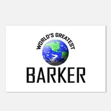 World's Greatest BARKER Postcards (Package of 8)